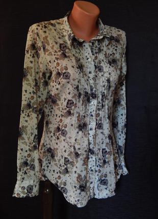 Легкая рубашка marco pecci оригинал (размер 36)