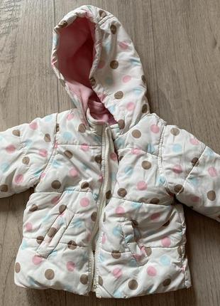 Куртка (осені, весна, зима) 6-9 мес