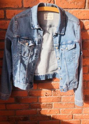 Куртка джинсовая верхняя одежда