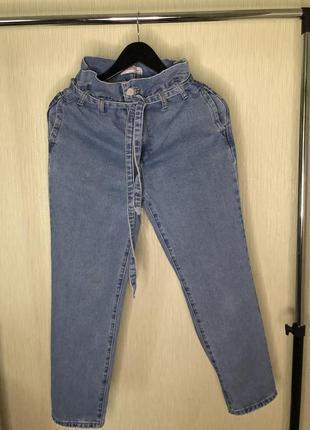 Крутые мом джинсы