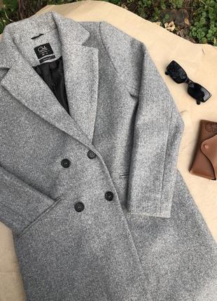 Серое/чёрное пальто/тренч/куртка other stories