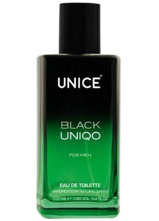 Парфюмированная вода black uniqo юнайс блэк юнико