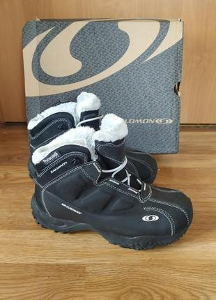 Зимние термо ботинки salomon