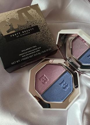 Хайлайтер,тени  fenty beauty