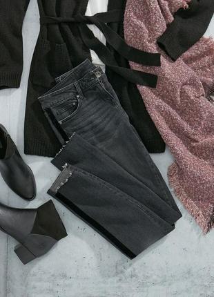 Акция. крутейшие джинсы с рваным низом и бархатными лампасами, холли берри, германия