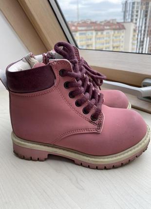 Lc waikiki ботинки на девочку 27р