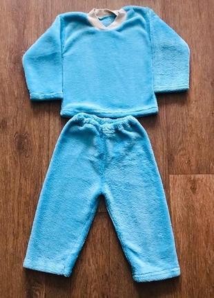 Тёплая пижама для мальчика