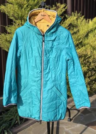 Демисезонная длинная куртка icebear
