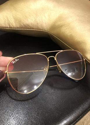 Солнцезащитные очки авиаторы ray ban