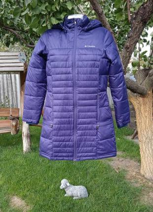 Куртка синяя утепленная женская columbia