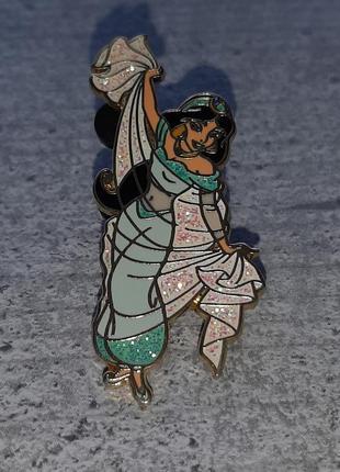 Стильная брошь от disney принцесса жасмин