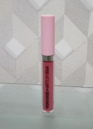 Блеск для губ матовый h&m matte lip cream - french rose