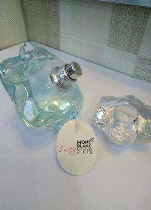 Оригинал montblanc lady emblem l'eau, распив парфюмерии от 1 мл