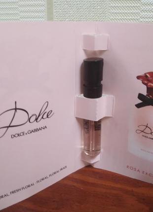 Dolce&gabbana dolce rosa excelsa оригинал, духи, пробник,парфюмированная вода