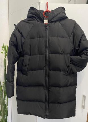 Куртка. чорна.  пуховик