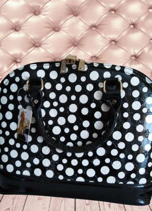 №1. женская стильная каркасная сумка в стиле louis vuitton.