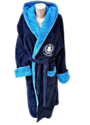 Махровый длинный теплый мужской халат с капюшоном, турецкие теплые мужские халаты