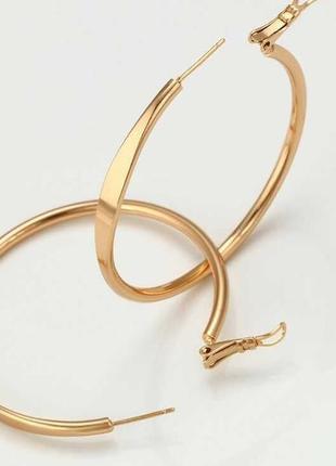 Сережки з медичного золота