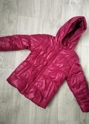 Куртка для девочки на синтепоне delta kids