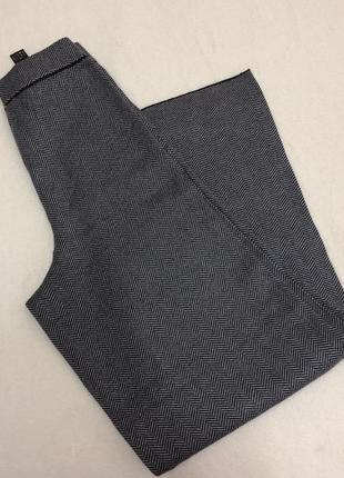 Шерстяные брюки палаццо zara