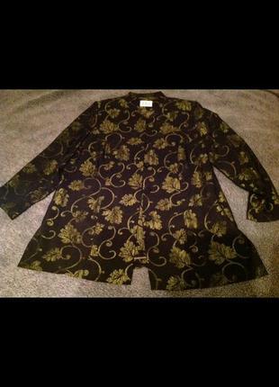 Вечернее нарядное пальто elvi 56