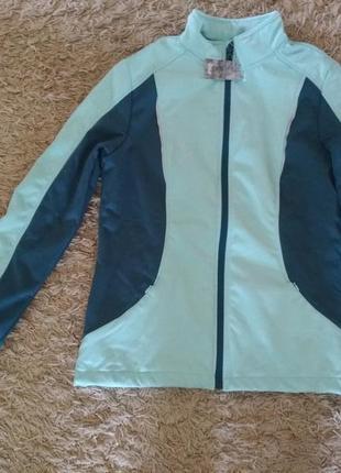 Жіноча спортивна куртка курточка вітровка ветровка crivit