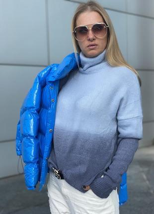 Шикарный тёплый свитерок италия люкс качества