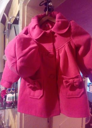 Пальто+береточка