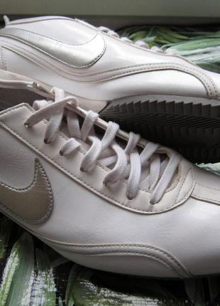 Кросівки комбіновані шкірою nice