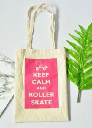 Легкая тканевая сумка шопер
