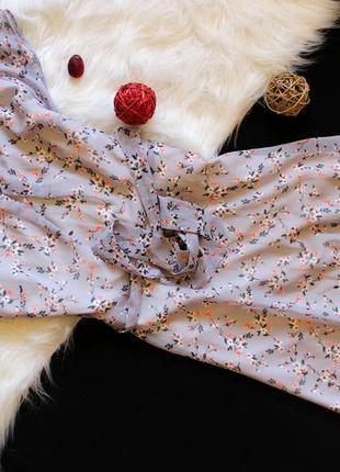 Воздушное платьице с мелкие цветы  дороти перкинс