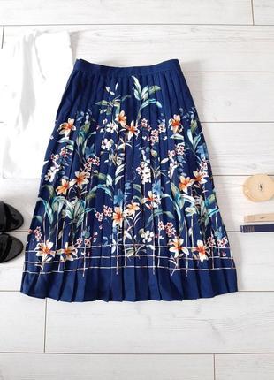Изумительная юбка плиссе миди