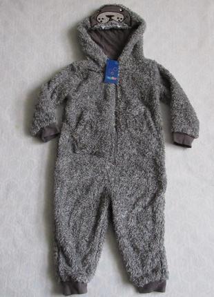 Кигуруми пижама человечек на мальчика 86 - 116 см от lupilu новая
