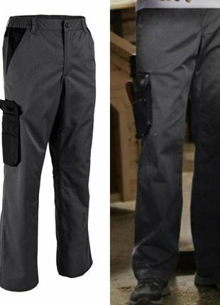 Рабочие утеплённые штаны брюки powerfix германия спецодежда