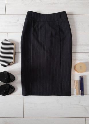 Лаконичная юбка миди карандаш