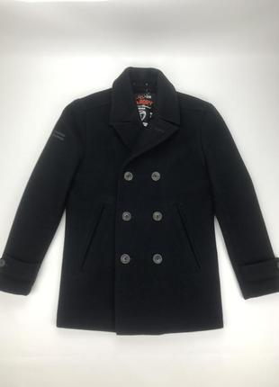 Superdry coat пальто бушлат оригинал