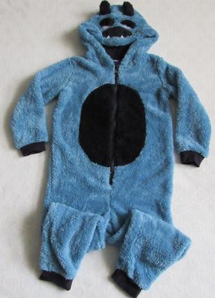 Кигуруми пижама человечек на мальчика 86/92, 110/116 см от lupilu новая