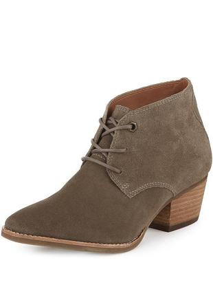 Marks & spencer insolia indigo collection ботинки ботильоны