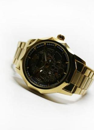 Часы winner gold