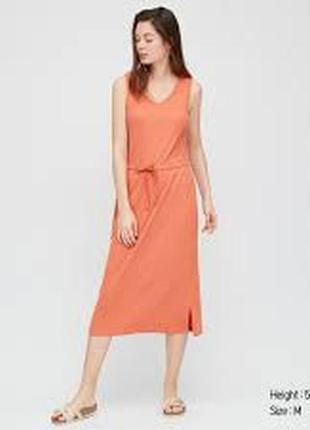 Трикотажное платье uniqlo, s.
