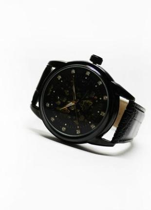 Часы winner diamond black