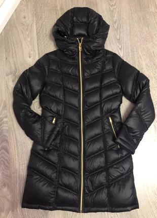 Куртка пуховик пальто calvin klein xs-s