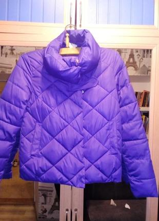 Куртка фиалкового цвета