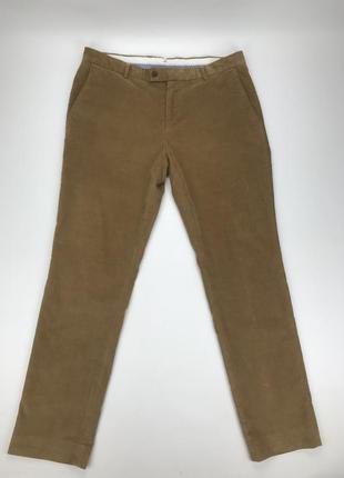 Charles tyrwhitt штаны брюки вельвет