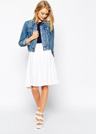 Льняная летняя юбка
