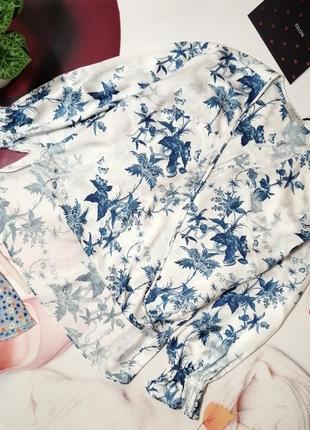 Шелковая блуза allsaints, натуральный шелк, размер м или 10/38