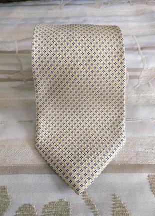Ermenegildo zegna шелковый галстук, бабочка оригинал италия, шёлк