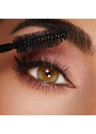 Тушь для ресниц kiko milano luxurious lashes maxi brush mascara new