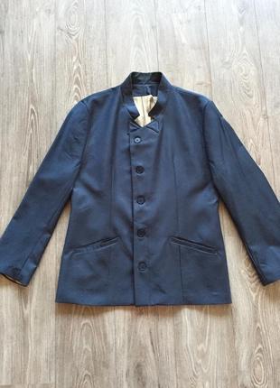 Синий пиджак artem kostenko