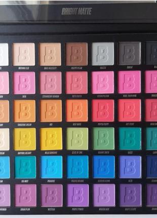 Beauty bay, кольорова палетка, тени для век, тіні для повік, цветная палетка